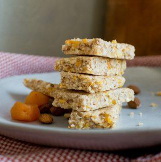 apricot rice bars