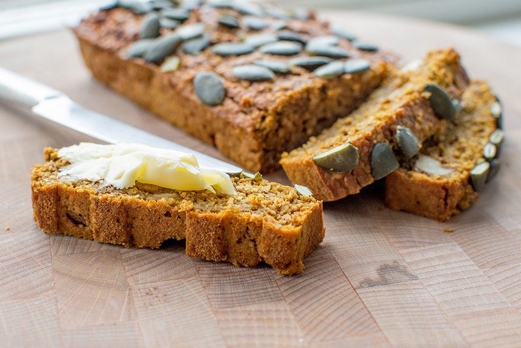 pumpkin breakfast loaf