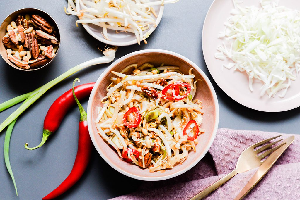 eastern bean sprout salad