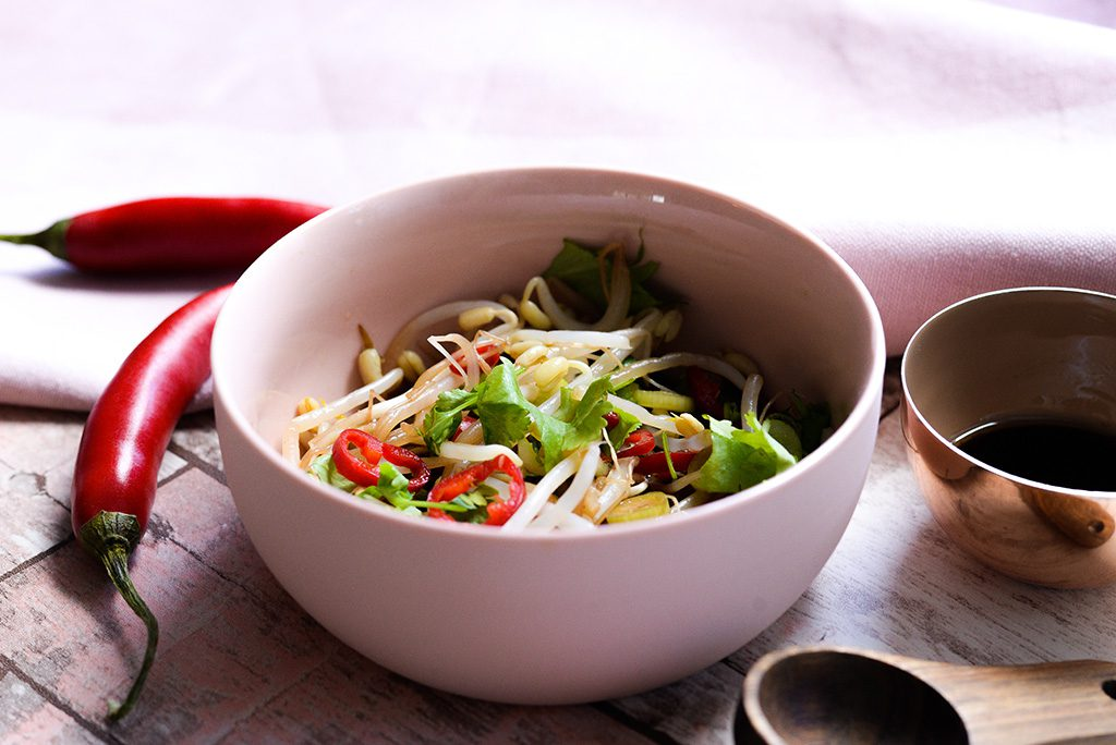 asian bean sprout salad